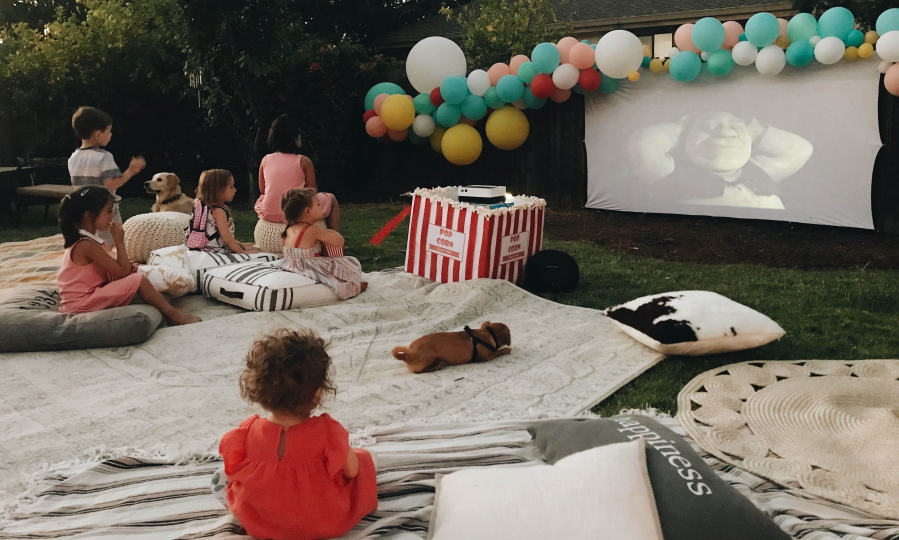Backyard theater: Outdoor TVs, projector systems have come ...