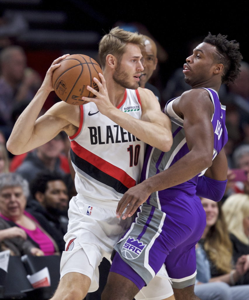 Portland Trail Blazers Layman: Blazers Finish Preseason With Win Over Kings, 118-115
