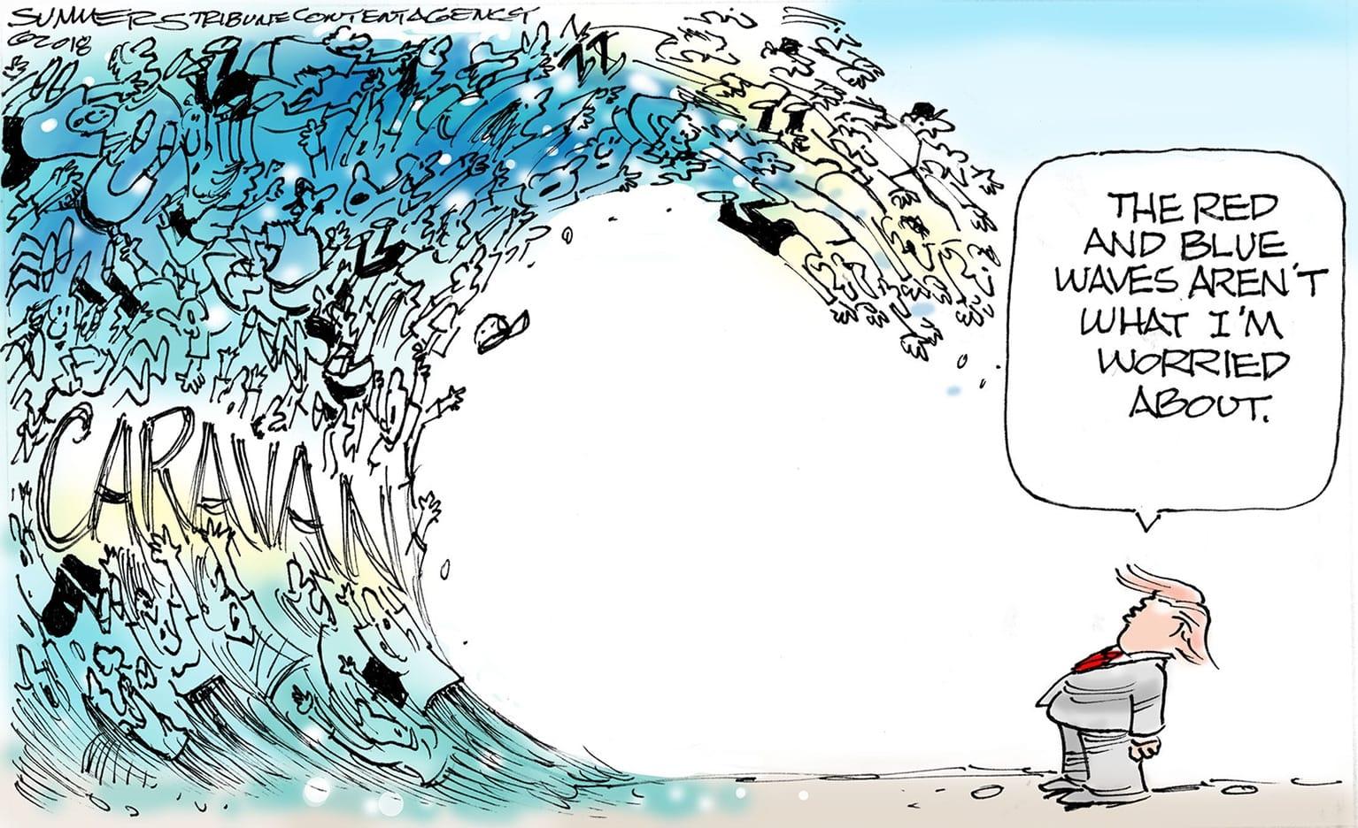 Oct. 27: Migrant Wave