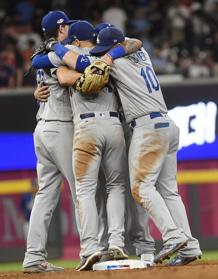 801604a301da Dodgers finish off Braves in NLDS with 6-2 win | The Columbian