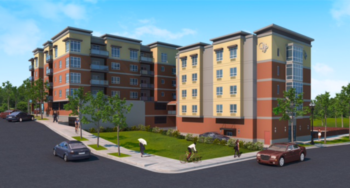 Our Heroes Place will feature 25 market-rate apartments and 24 homes conveniently near the I-5 Mill Plain interchange.