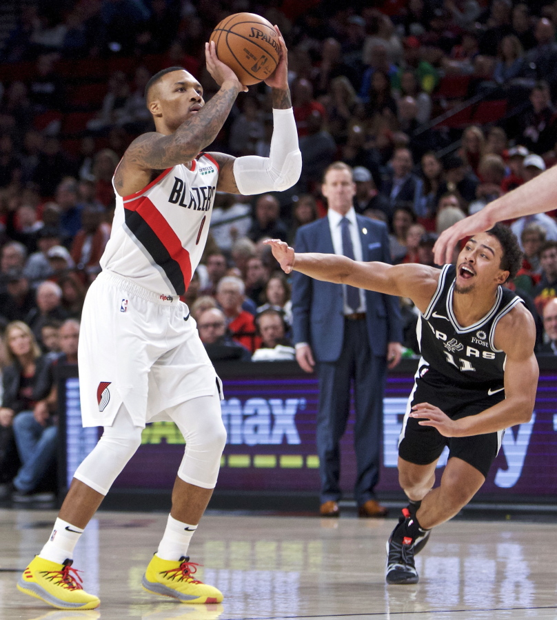 Portland Trail Blazers Basketball: Blazers Take Down Spurs For 2-0 Season Start