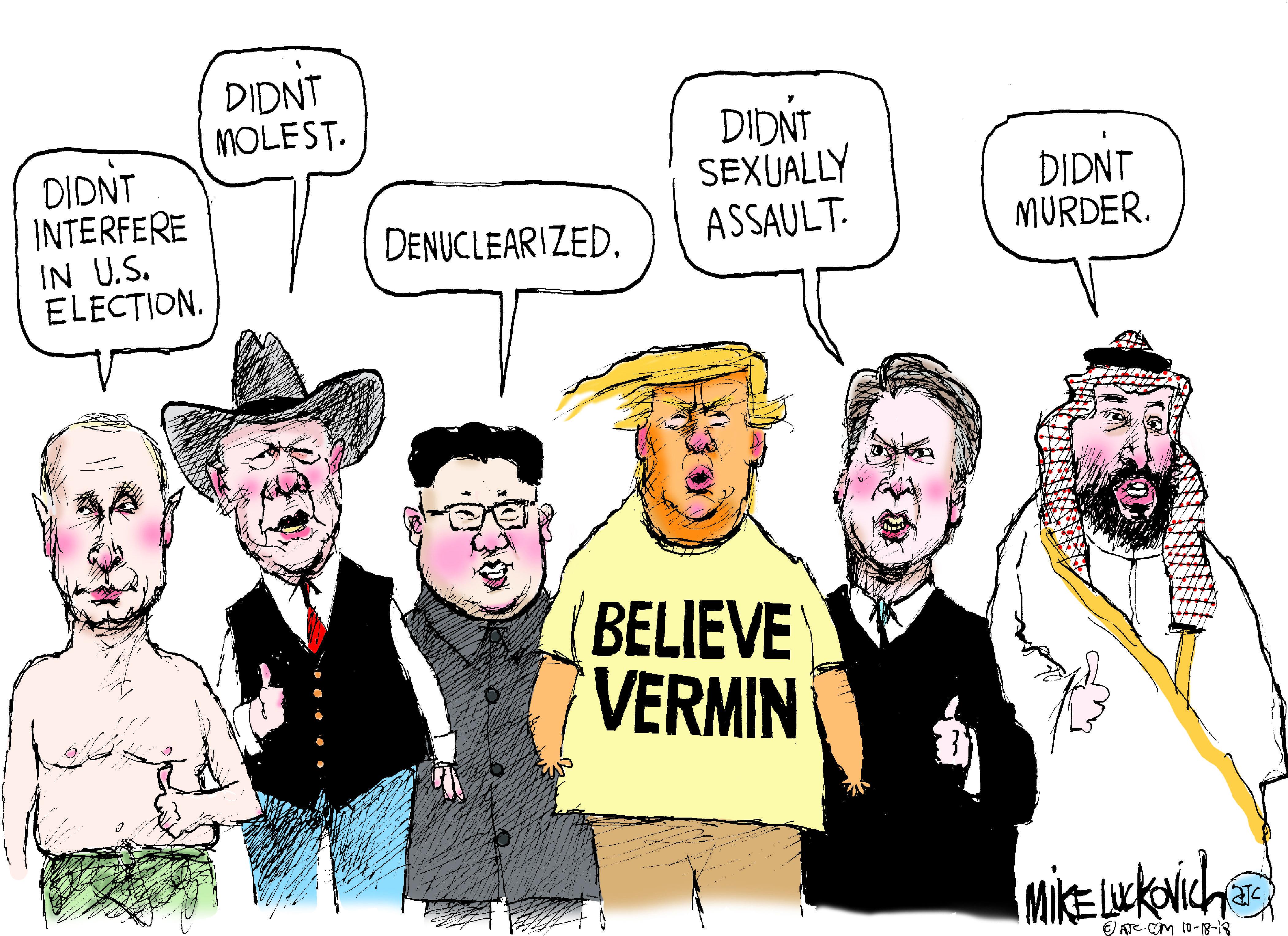 Oct. 20: Trump Believes