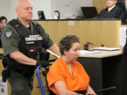 Asenka Miller Wilber, 50, appeared in Clark County Superior Court on Monday morning, facing a second-degree murder charge in the death of her 75-year-old mother. Wilber's bail was set at $500,000.