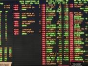 Sports betting lights up casinos in Las Vegas.