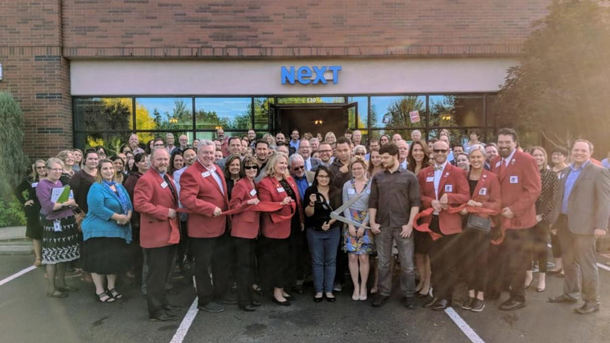 Fircrest: The ribbon-cutting ceremony for the new Vancouver location of Next, a career center for individuals 16 to 24 years old.