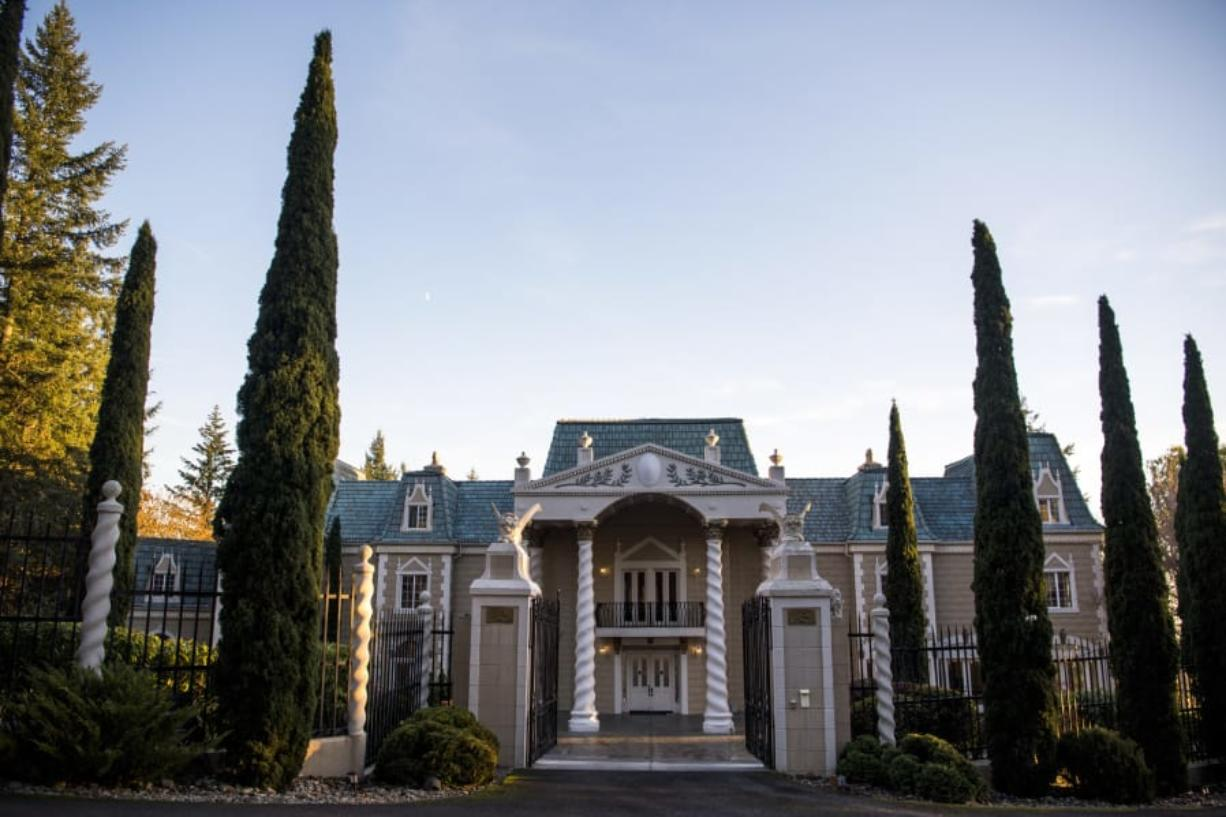 The mansion at The Empress Estate serves primarily as a wedding venue. The 17,500-square-foot mansion has hosted 120 weddings this year through mid-November.