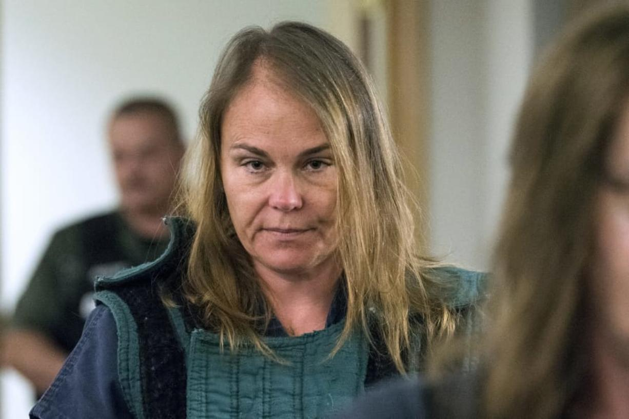 Sadie Pritchard Former associate principal at Evergreen High School awaiting trial on three counts of first-degree sexual misconduct with a minor