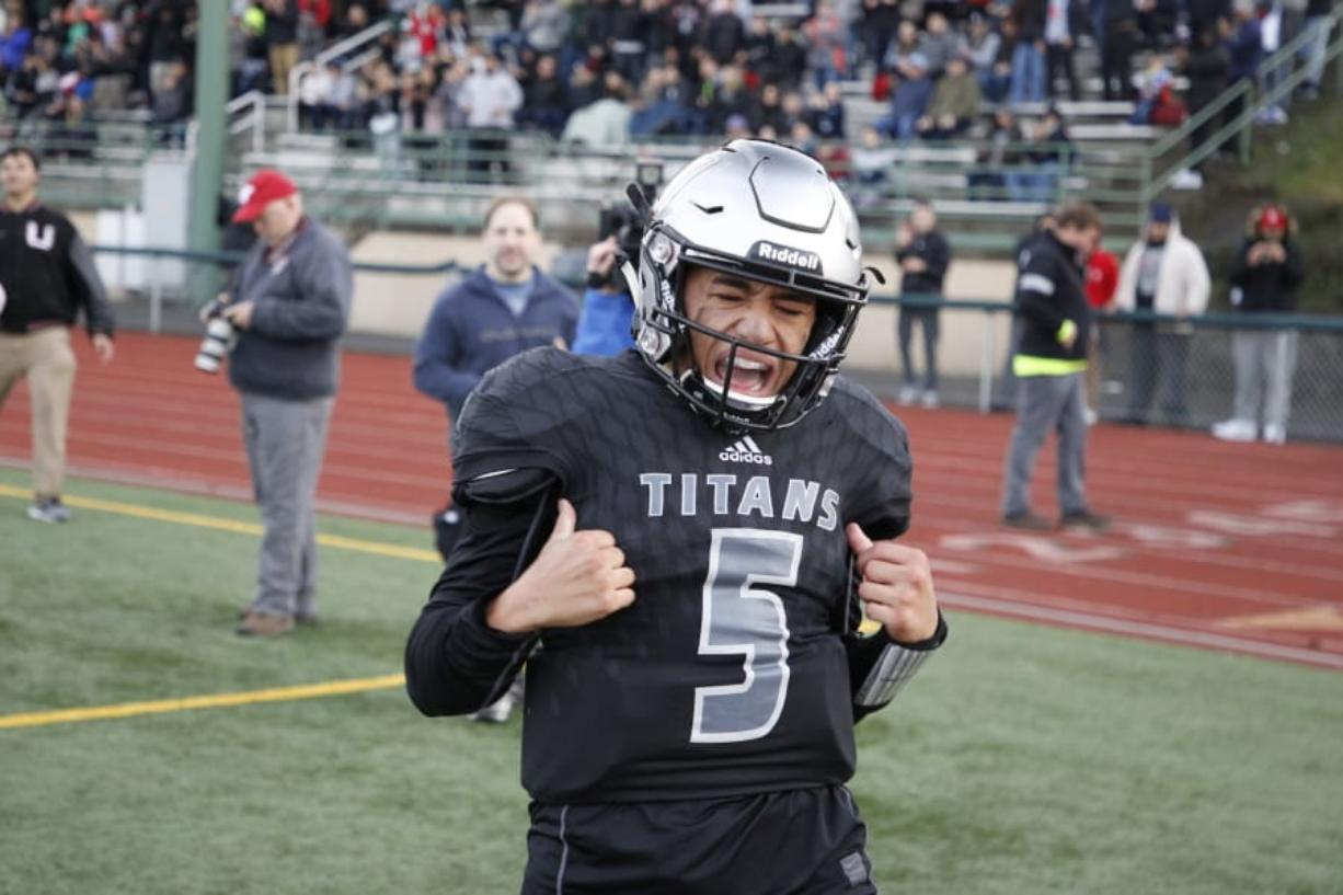 Lincoln Victor led Union to an undefeated season and 4A state title in 2018.