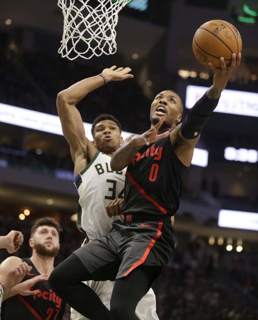 Blazers Routed In Milwaukee, 143-100