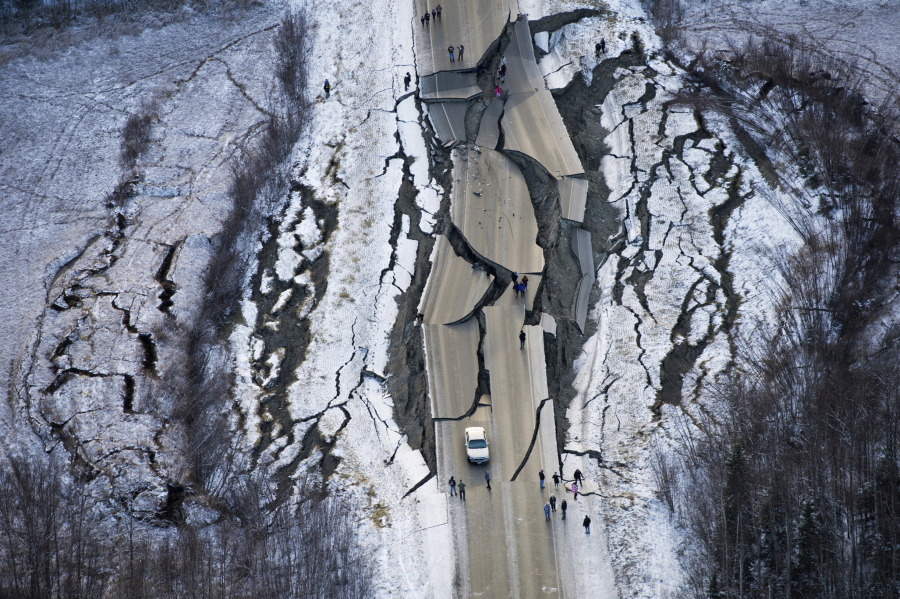 Alaska Residents Pick Up The Pieces After Back To Back Earthquakes The Columbian