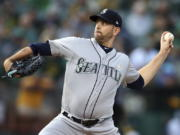 The New York Yankees acquired left-hander James Paxton from the Seattle Mariners for left-hander Justus Sheffield and two other prospects, Monday, Nov. 19, 2018.