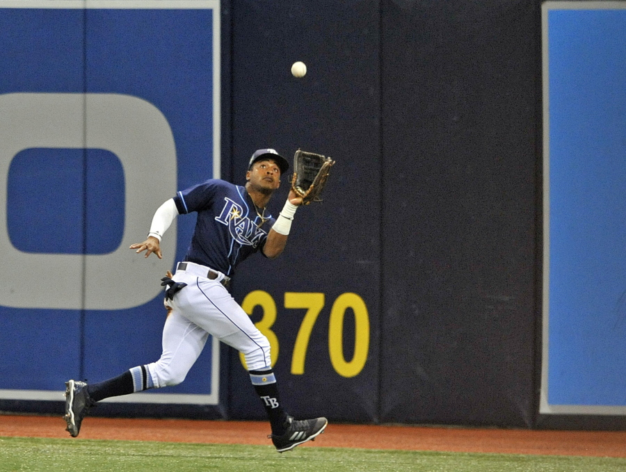 6d5abe684 Center fielder Mallex Smith was sent from the Rays to the Mariners in a  trade completed