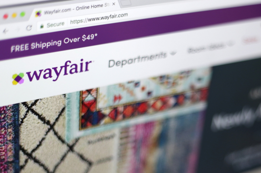 Advice Online Interior Designers Provide Reasonably Priced Tips The Wayfair Website On A Computer In New York Jenny Kane Ociated Press Files
