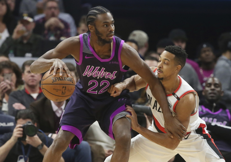aeb0f3f3b Blazers never lead in 112-96 loss to Timberwolves