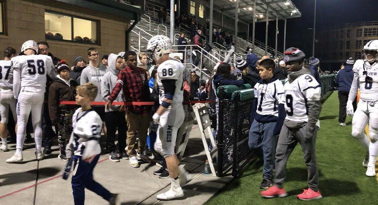 4a State Football Woodinville Ends Skyview S Season 34 21 The