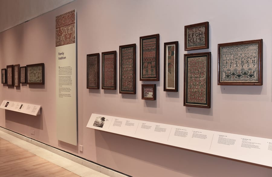 a2b64c80eac7 Leslie Durst's unique collection of Scottish samplers is on display at the  National Museum of Scotla
