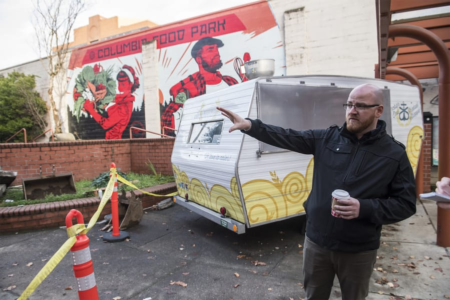 Columbia Food Park Gets Busy On Remodel In Downtown Vancouver The