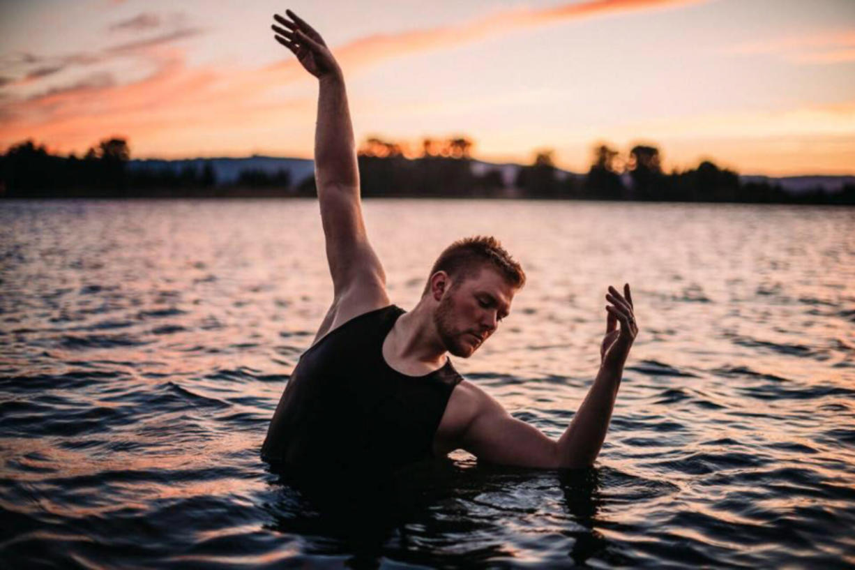 """Washington Dance Creative founder Josh Murry-Hawkins wants to spread dance all over the local landscape. """"I've broken all the barriers,"""" he said. To launch his Washington Dance Creative, he said, his first step was working with local photographers to develop eye-catching dance scenes like this one."""