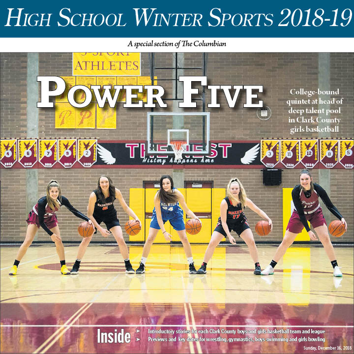 This story is part of the Columbian's High School Winter Sports 2018-19 special preview section, published on Dec. 16.