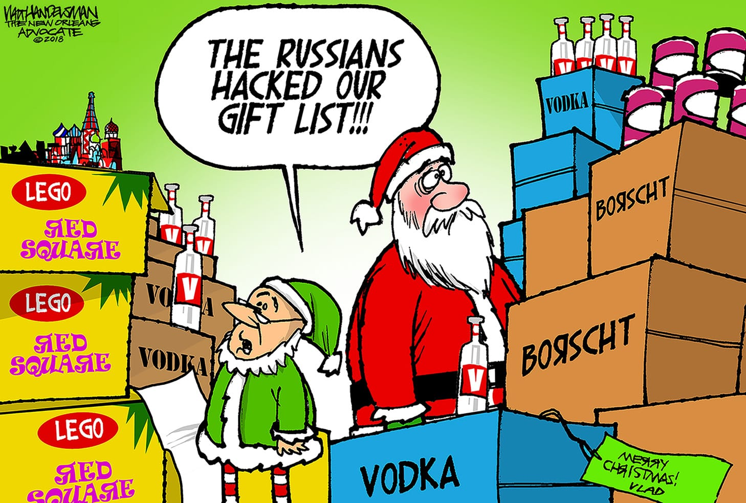 Dec. 22: Russian Hacking