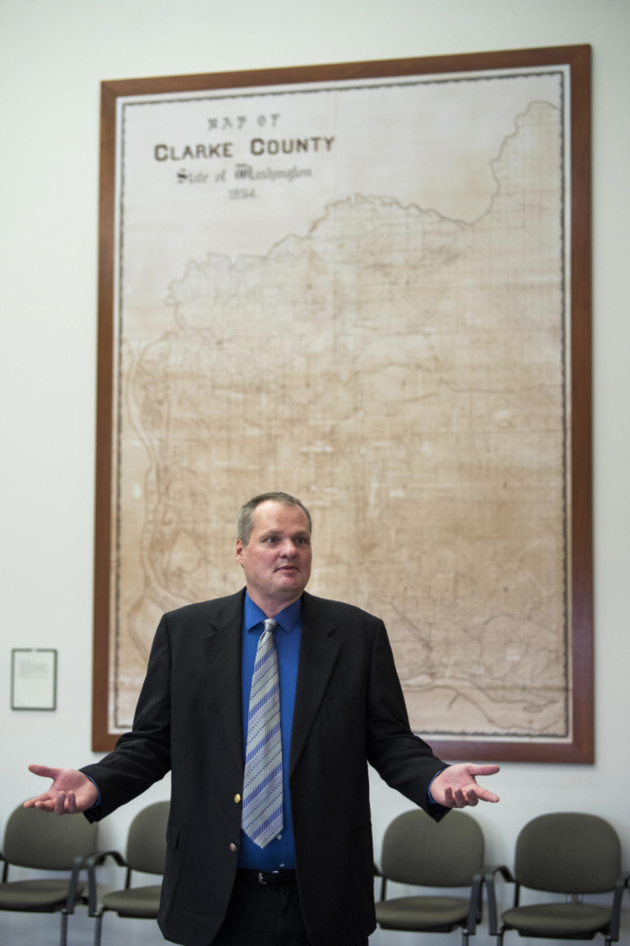 Shawn Henessee, Clark County manager