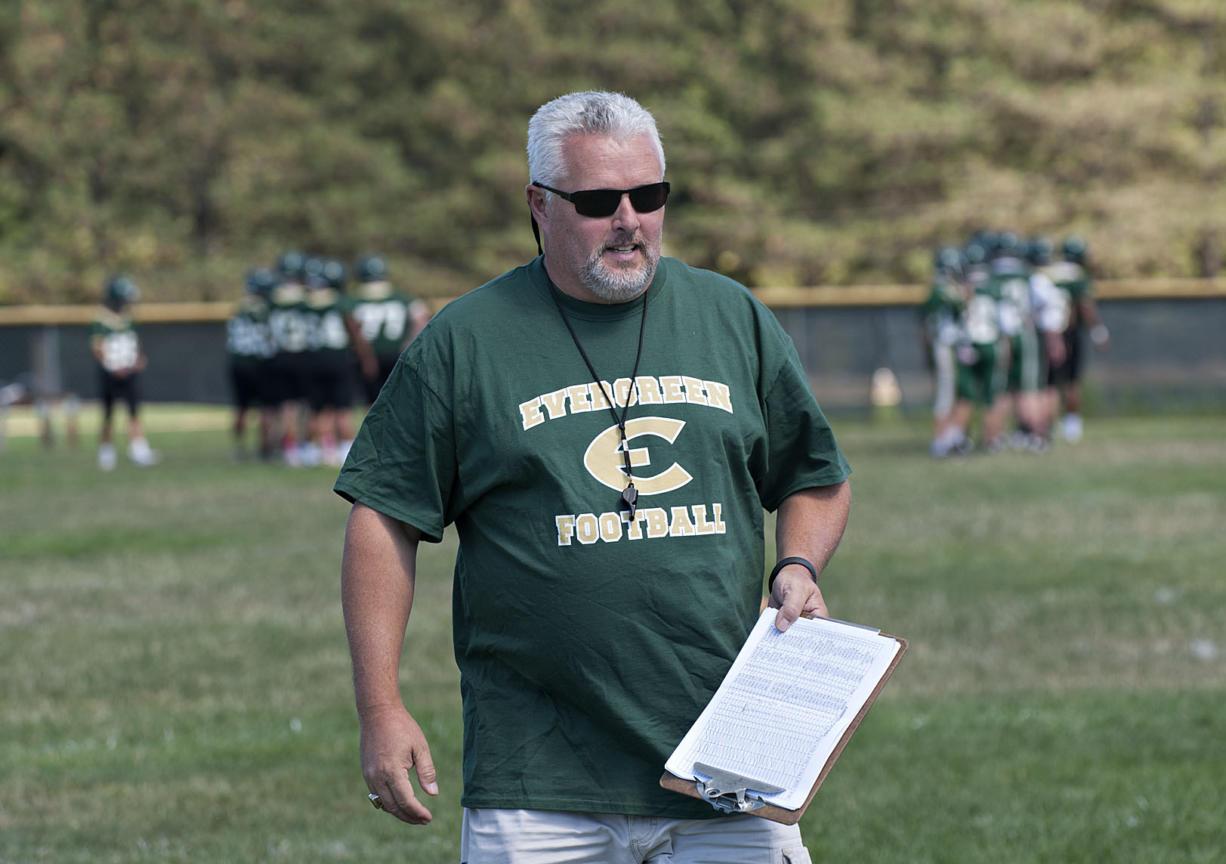 Terry Hyde spent four seasons as Evergreen High School head coach.