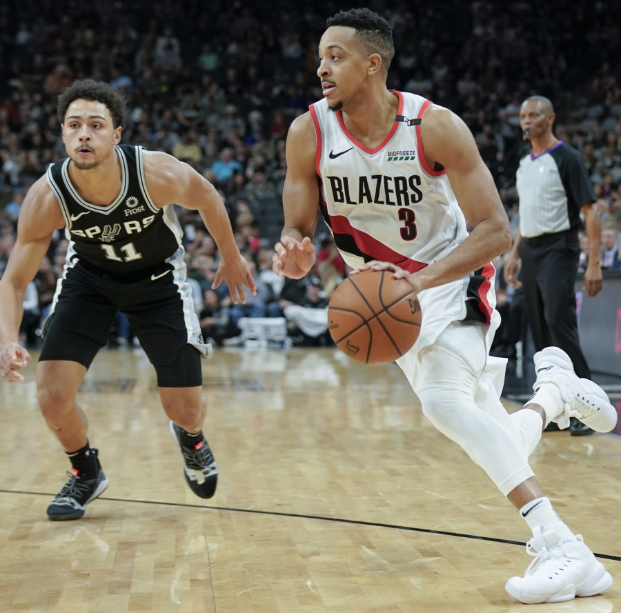 Portland Trail Blazers Basketball: Spurs Beat Blazers, 131-118