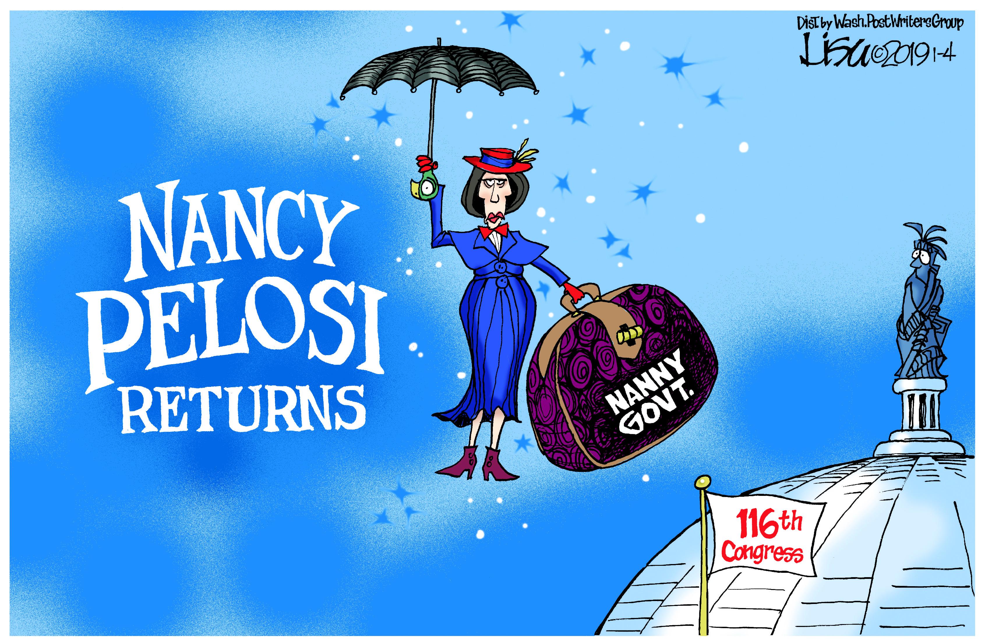 Jan. 5: Pelosi Returns