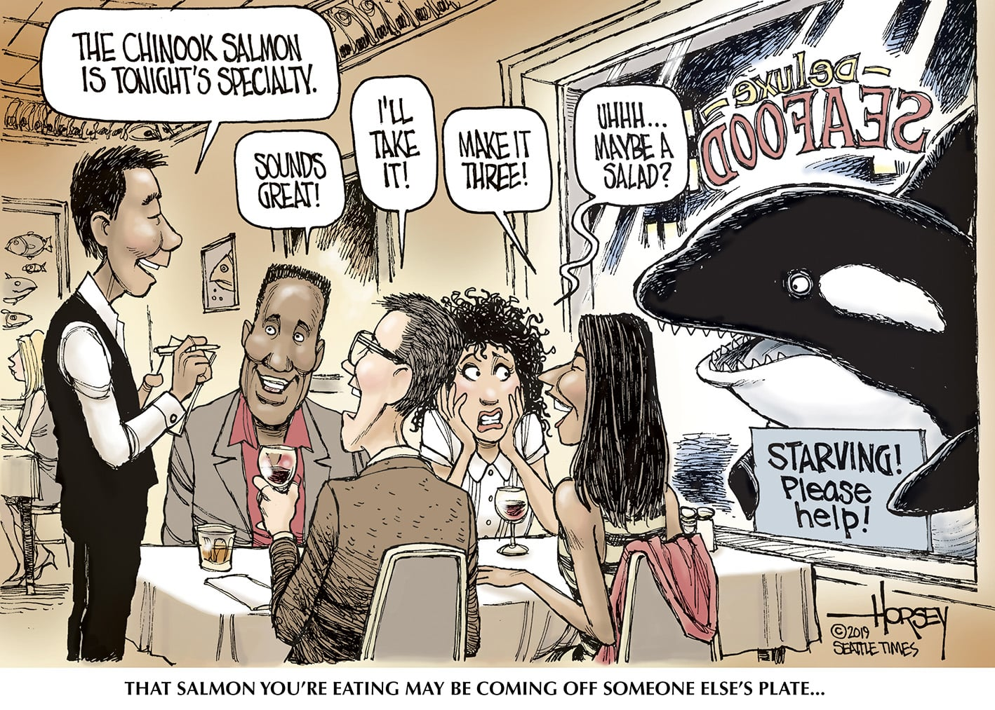 Jan. 12: Starving Orcas