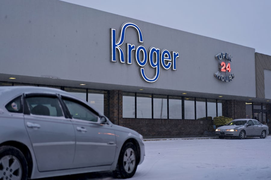Following Walmart's lead, Kroger asks customers not to