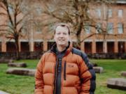 Marc Kramer, associate professor at WSU Vancouver (Sydnie Kobza, courtesy of Marc Kramer)