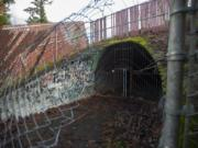 An underground tunnel near Columbia River High School was meant to serve as a link for the Cougar Creek Trail. The tunnel was built in 1991 and eventually closed.