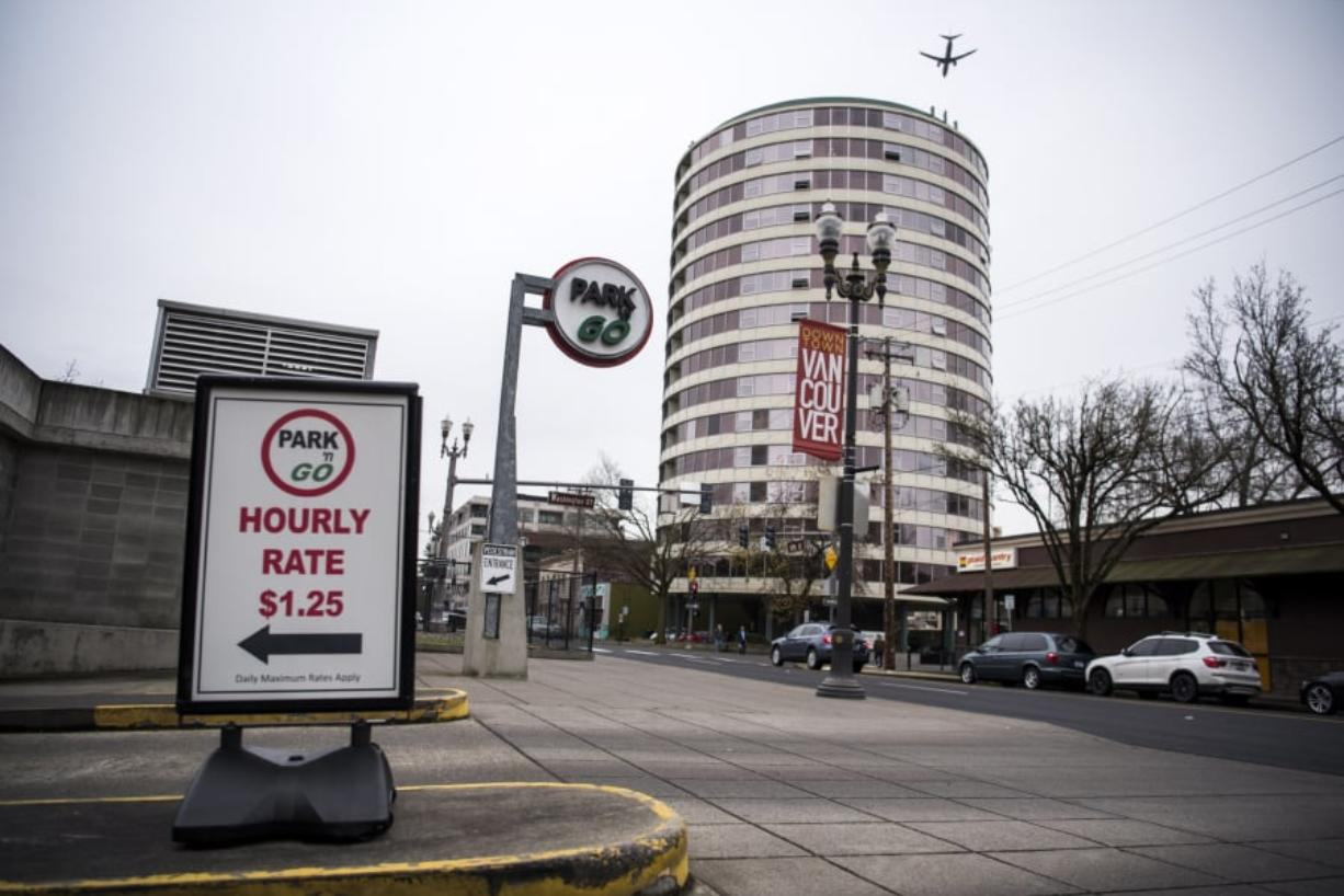 If the city of Vancouver moves forward with a proposed parking policy, it might invest more in parking branded like this Park 'n Go garage on West Sixth Street in downtown.
