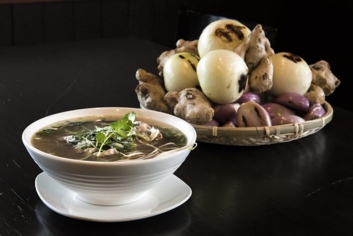 Find fresh, hearty flavors at Dop Pho - Columbian com