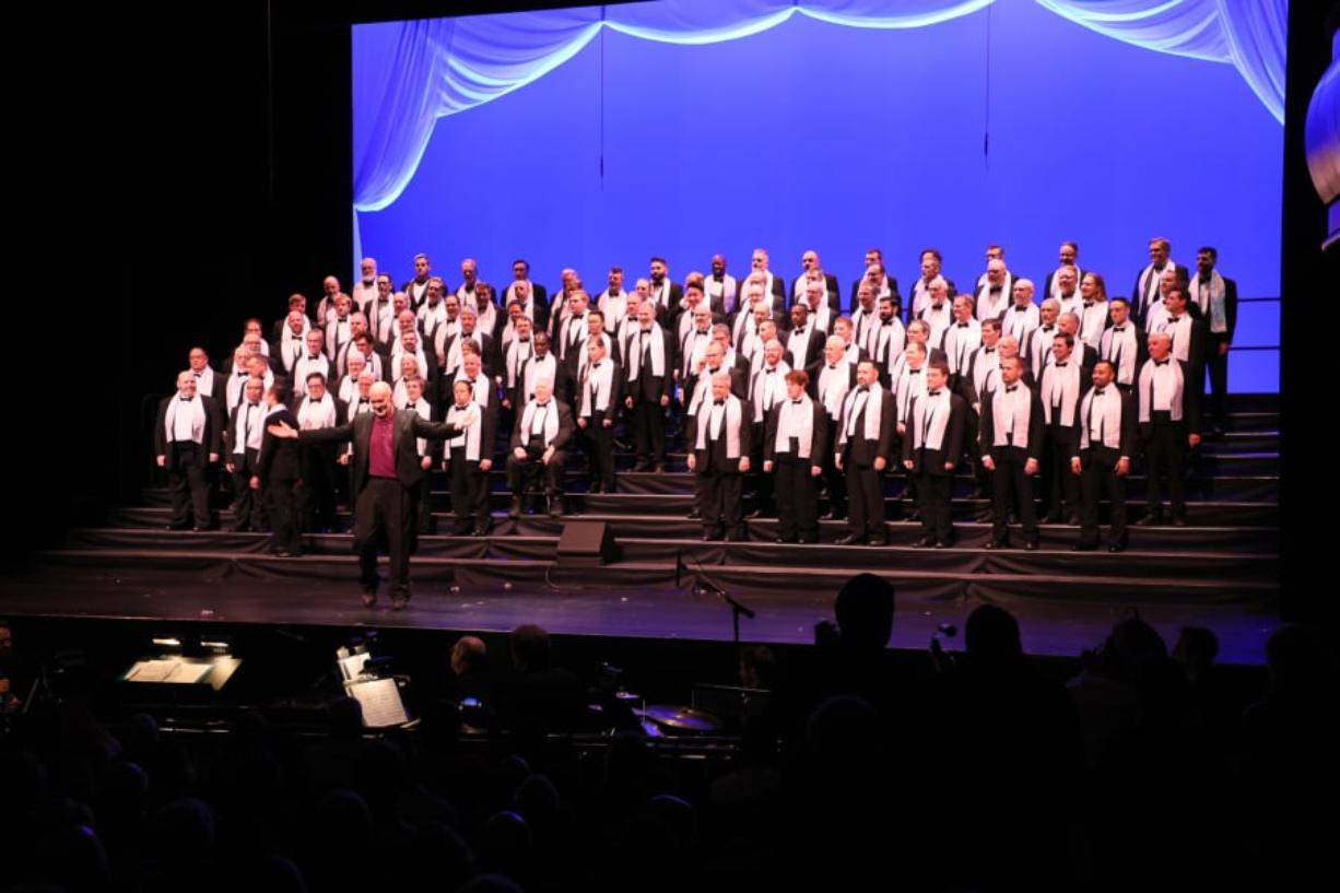 The Portland Gay Men's Chorus will join the Vancouver Symphony Orchestra and Susannah Mars in concert on Saturday and Sunday.