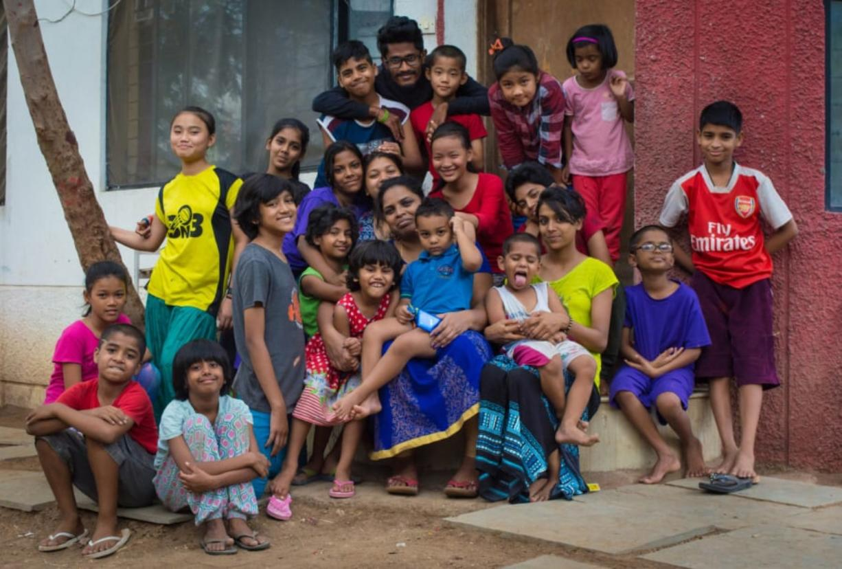 Children receiving services at Shared Hope Village of Hope in Pune, India.