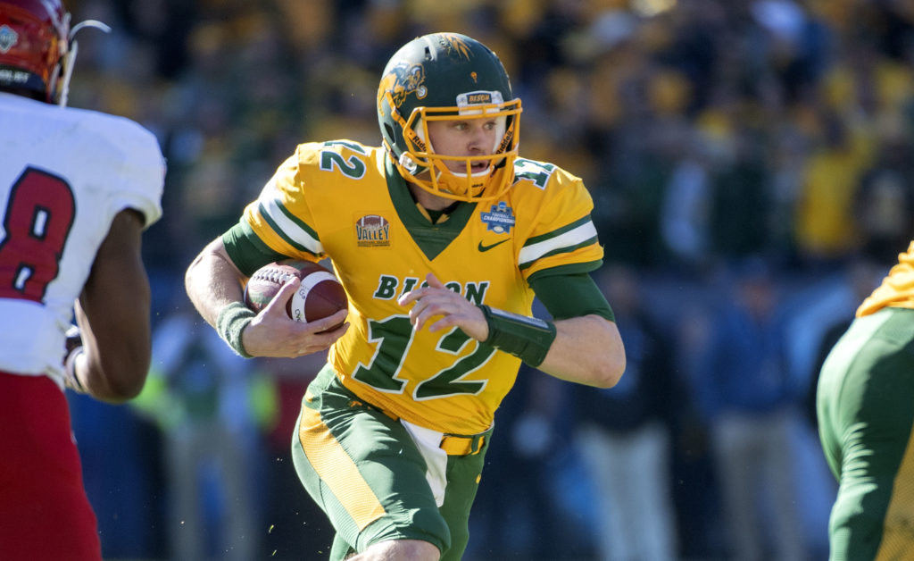 North Dakota State quarterback Easton Stick (12) runs the ball against  Eastern Washington during 1fc99ef10