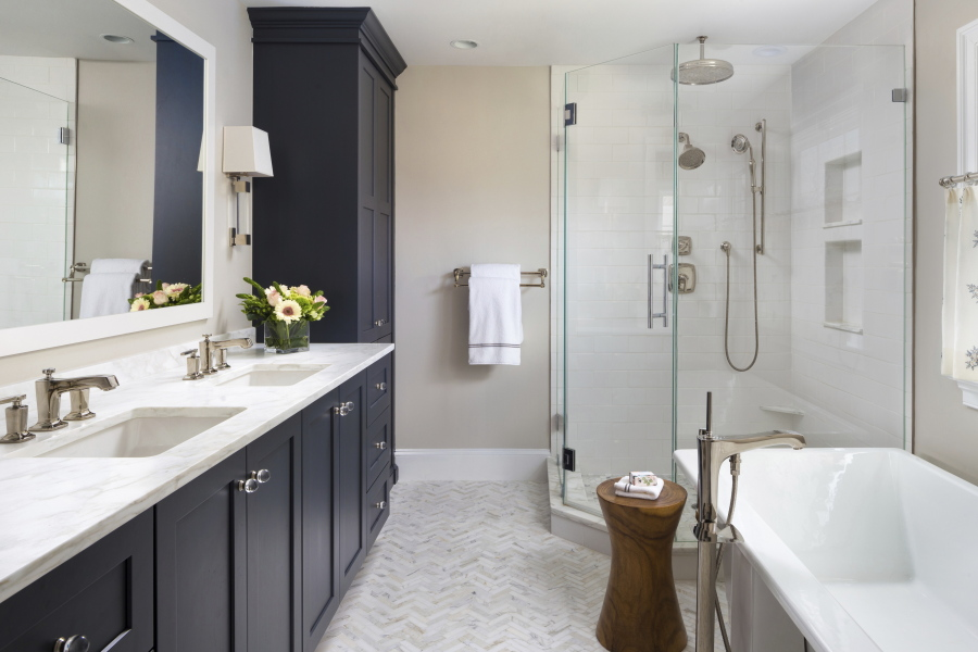 Small Touches Create A Great Master Bathroom The Columbian