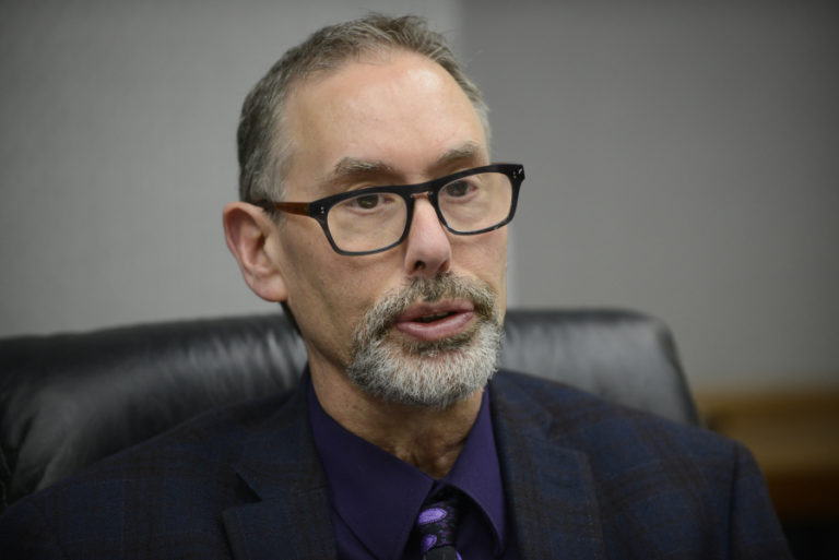 Clark County Public Health Director Dr. Alan Melnick said the measles outbreak, which has spread beyond Clark County, is one of the largest and scariest communicable diseases events he's ever worked on. The Columbian files