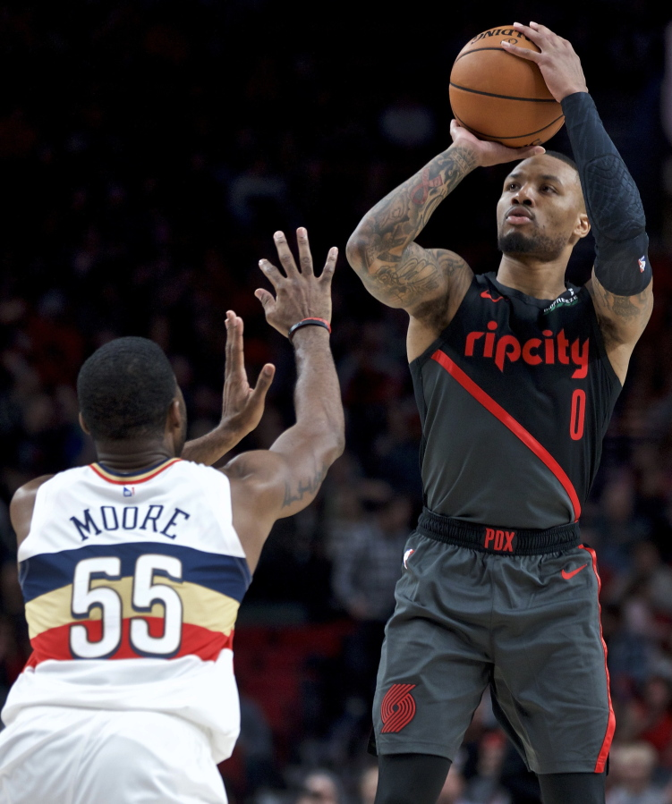 Portland Blazers Game: Lillard Leads Trail Blazers To 128-112 Win Over Pelicans