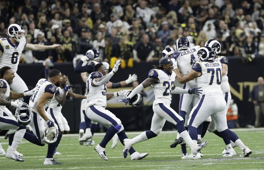 Image result for rams beat saints