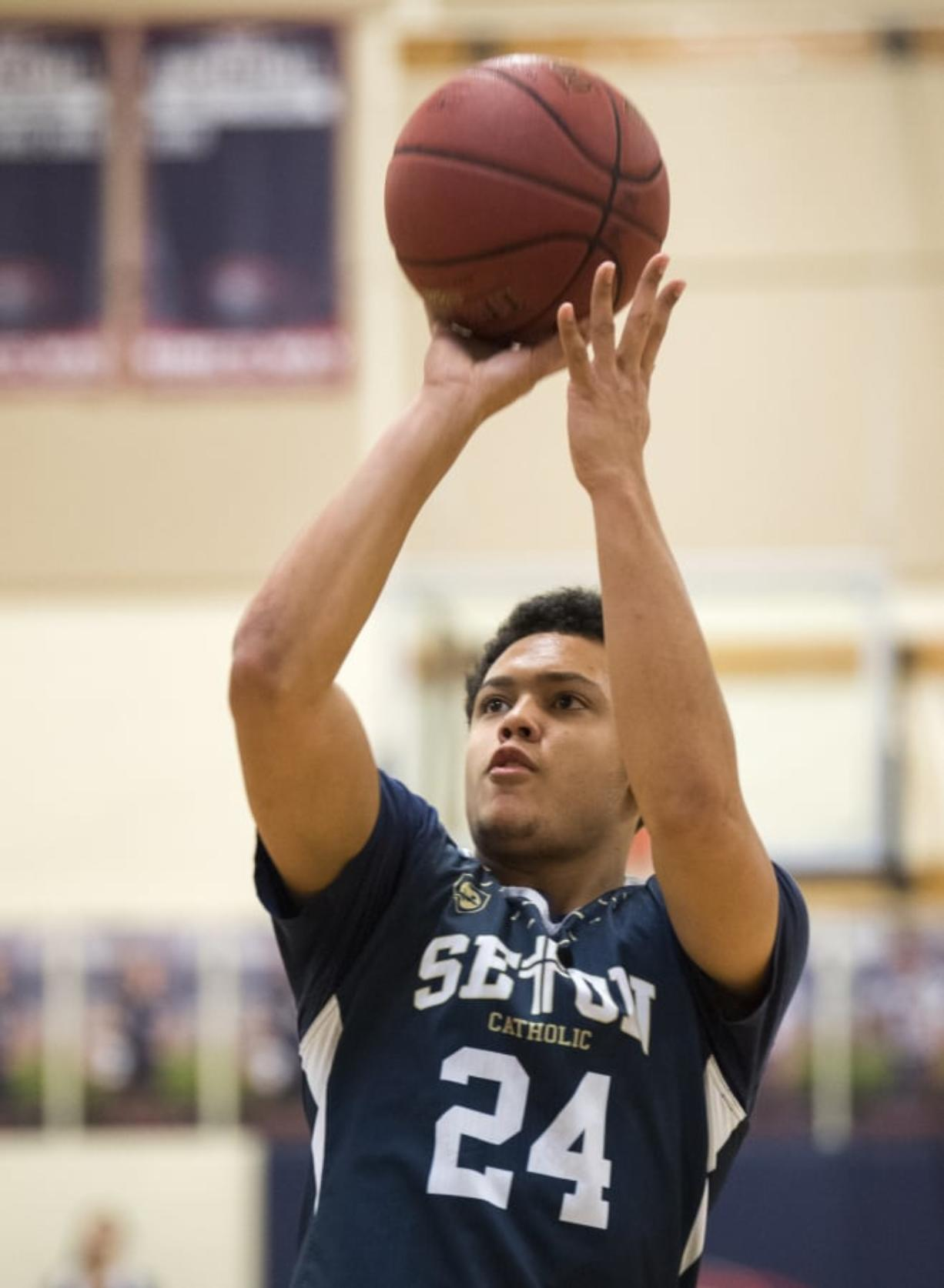 Basketball journey continues for Seton Catholic's Morgan