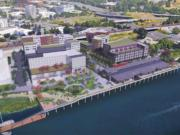 The Port of Vancouver envisions transforming its 10 acres near the Columbia River into a place for commercial, residential and public space development.