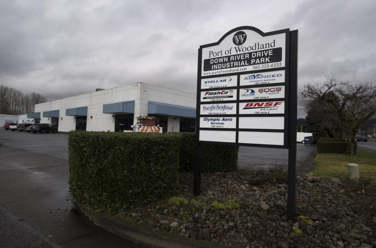 North Fork Composites is among the businesses at the Down River Drive Industrial Park in Woodland. Gary Loomis founded the company about 10 years ago.