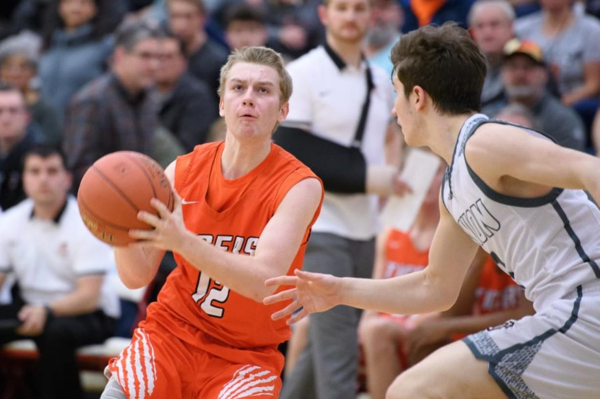 Battle Ground junior Brendan Beall doesn't shy away from taking big shots. On three occasions this season, he has hit game-winners for the Tigers. That has Battle Ground headed to the state tournament and the Tacoma Dome for the first time since 2002.