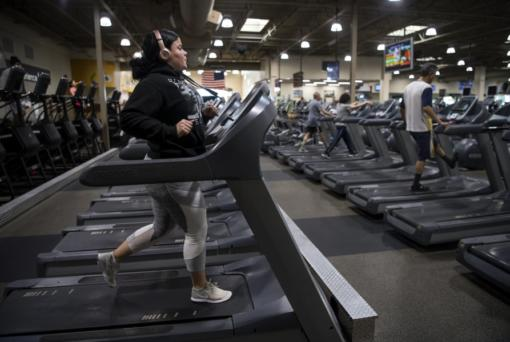 Catherine Martinez works out at 24 Hour Fitness Vancouver 131st Ave. Club.