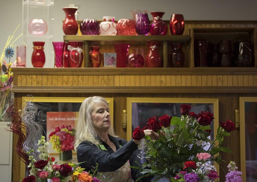 Working In Clark County Jane Bonvillain Floral Designer At