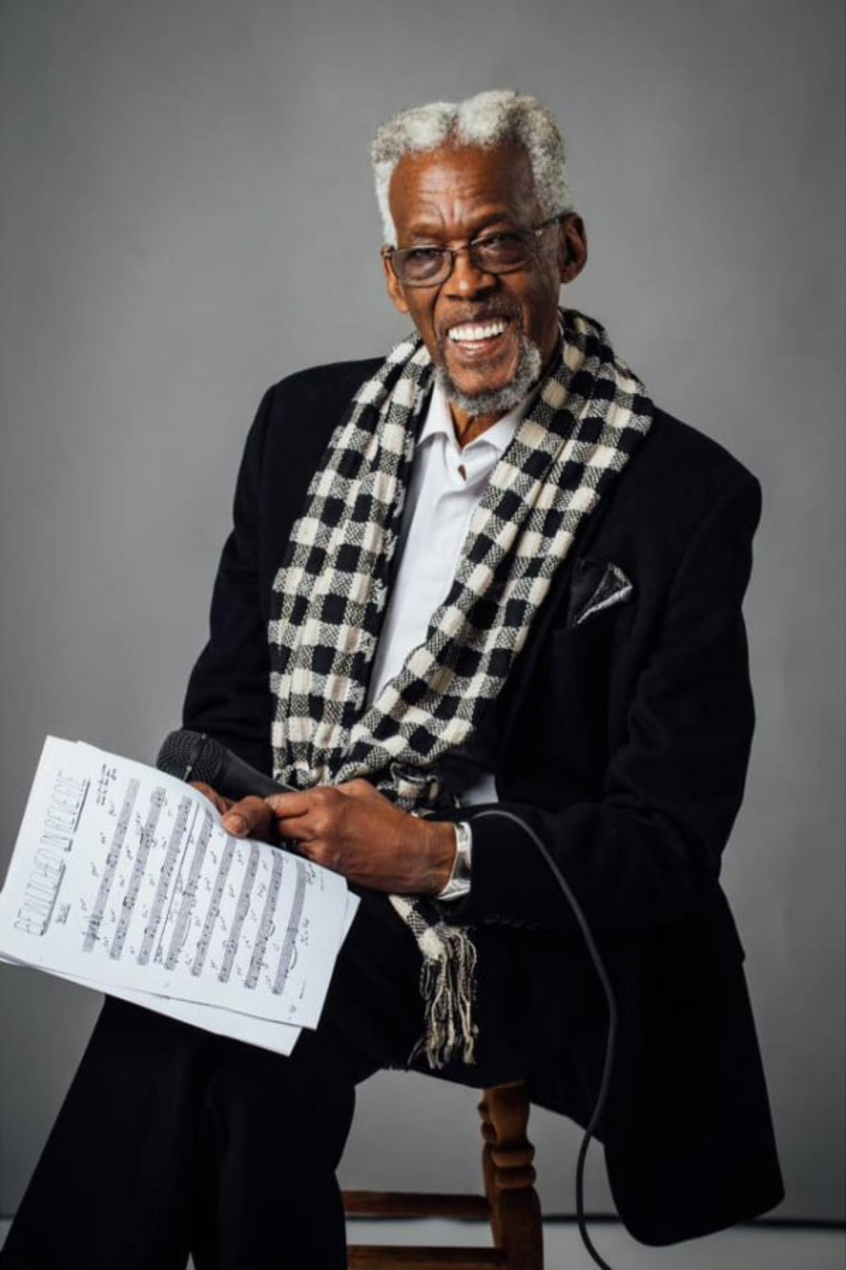 "Jazz singer David Watson, ""The Doctor of Bebop,"" lives in Ridgefield and performs frequently in and around Portland. He will speak about music and civil rights Feb. 27 at the Old Liberty Theater, after a screening of ""Soundtrack for a Revolution."" (Contributed by David Watson)"