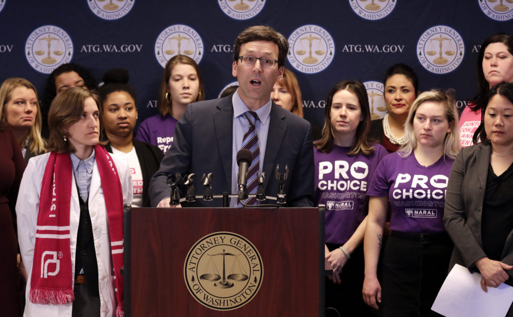 AG Ferguson sues Trump over abortion regulations